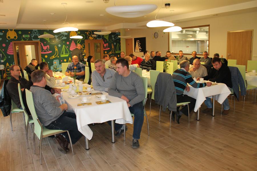 Pan Roman Sass, dyrektor KPODR w Minikowie, przywitał uczestników