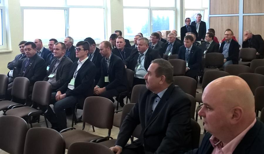 Delegaci i zaproszeni goście uczestniczący w Walnym Zgromadzeniu PZHBiPM