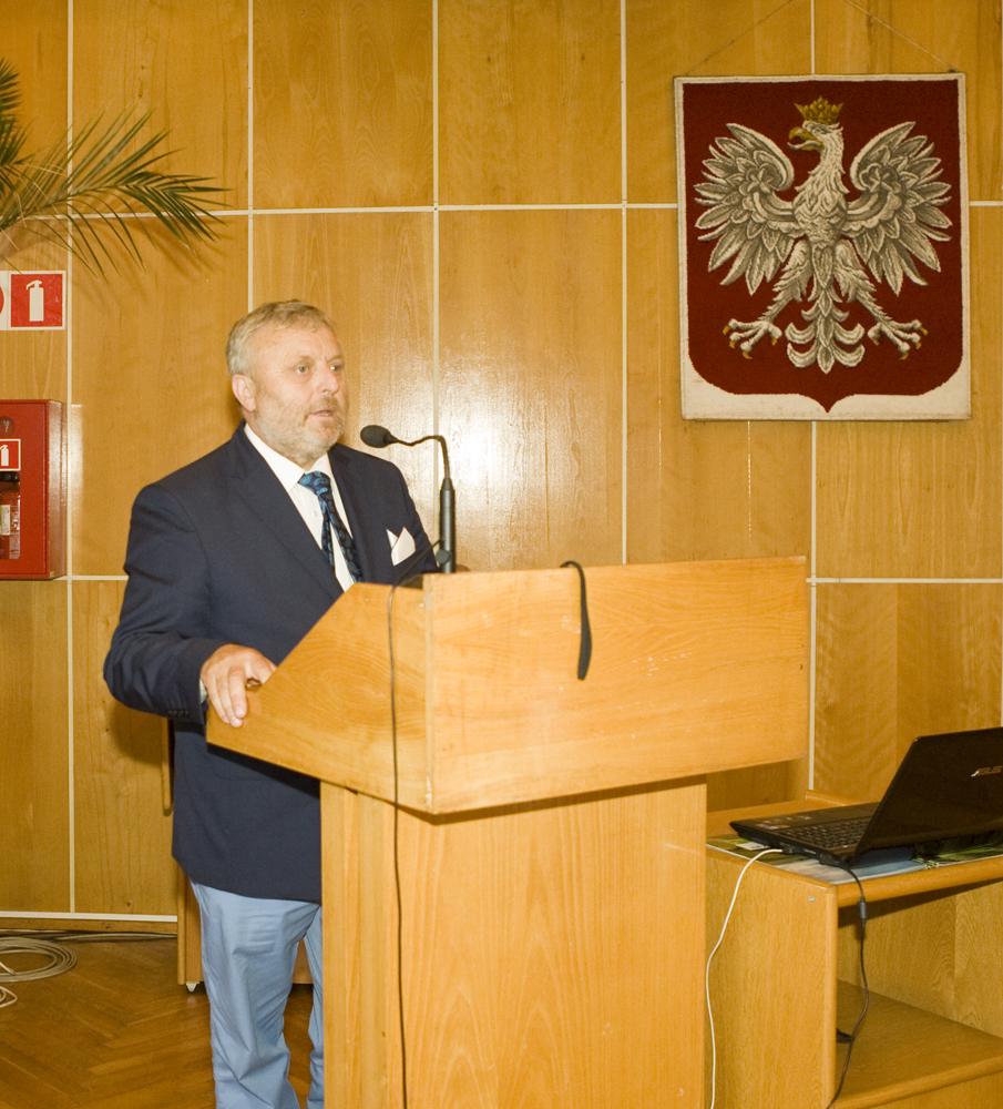 Pan Wiktor Szmulewicz, prezes Krajowej Rady Izb Rolniczych