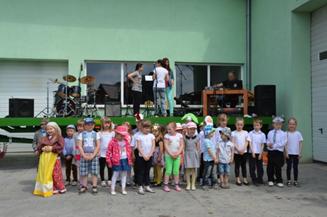 Występy artystyczne najmłodszych uczestników Majówki z Roltopem