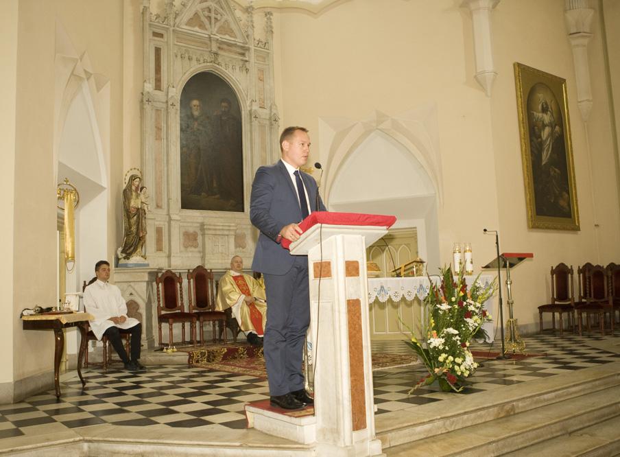 Pan Krzysztof Rodzik, reprezentujący Ministra Rolnictwa
