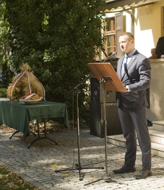 Pan Paweł Szramka, poseł na Sejm RP