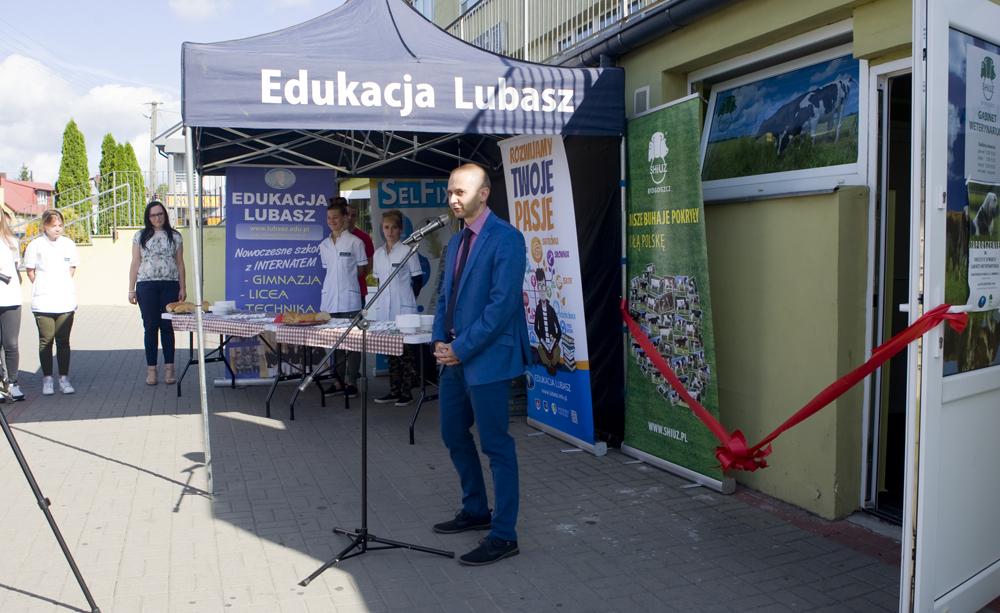 Pan Piotr Augustyniak, dyrektor handlowy SHiUZ Bydgoszcz
