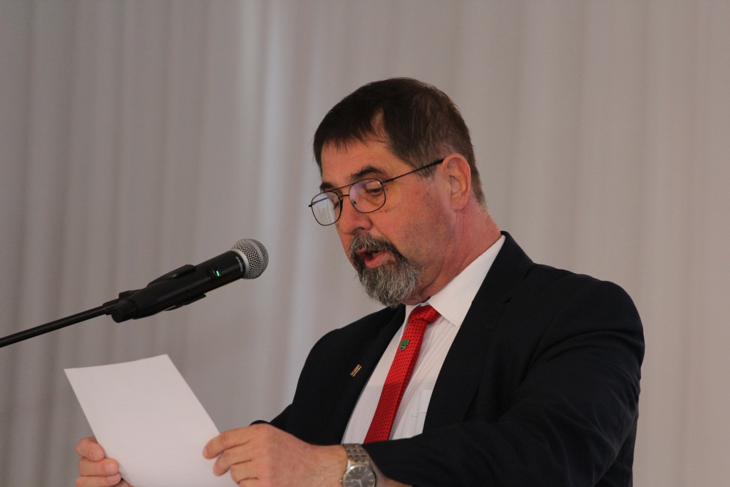 Pan Wiesław Drewnowski, prezes SHiUZ Bydgoszcz
