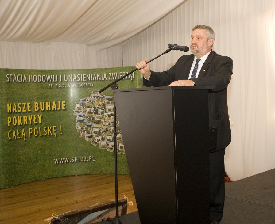 Pan Jan Krzysztof Ardanowski, poseł, wiceprzewodniczący sejmowej Komisji Rolnictwa i Rozwoju Wsi