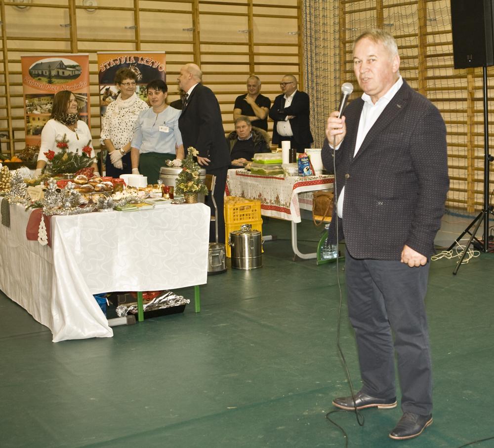 Marek Hildebrandt, jeden z uczestników Regionalnego Forum Targowego Żywności i Produktów Rolnych w Brodnicy