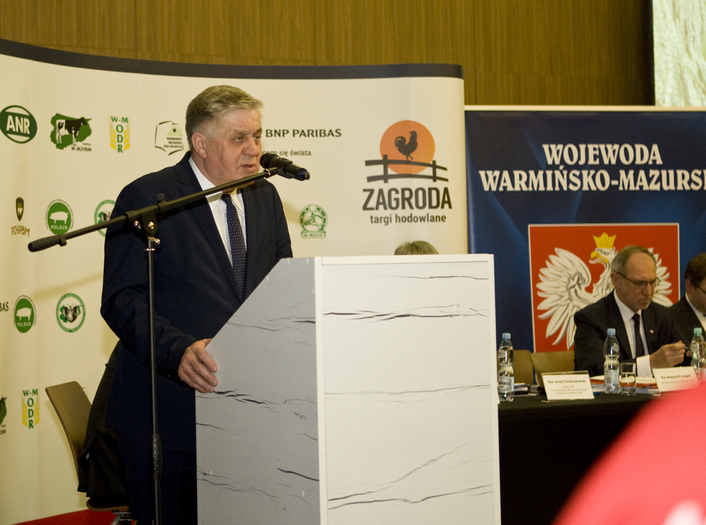 Krzysztof Jurgiel, minister rolnictwa i rozwoju wsi