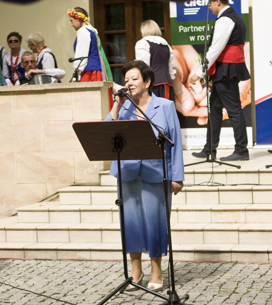 Zofia Kozłowska, przewodnicząca Kapituły Konkursu 'Rolnik Pomorza i Kujaw'