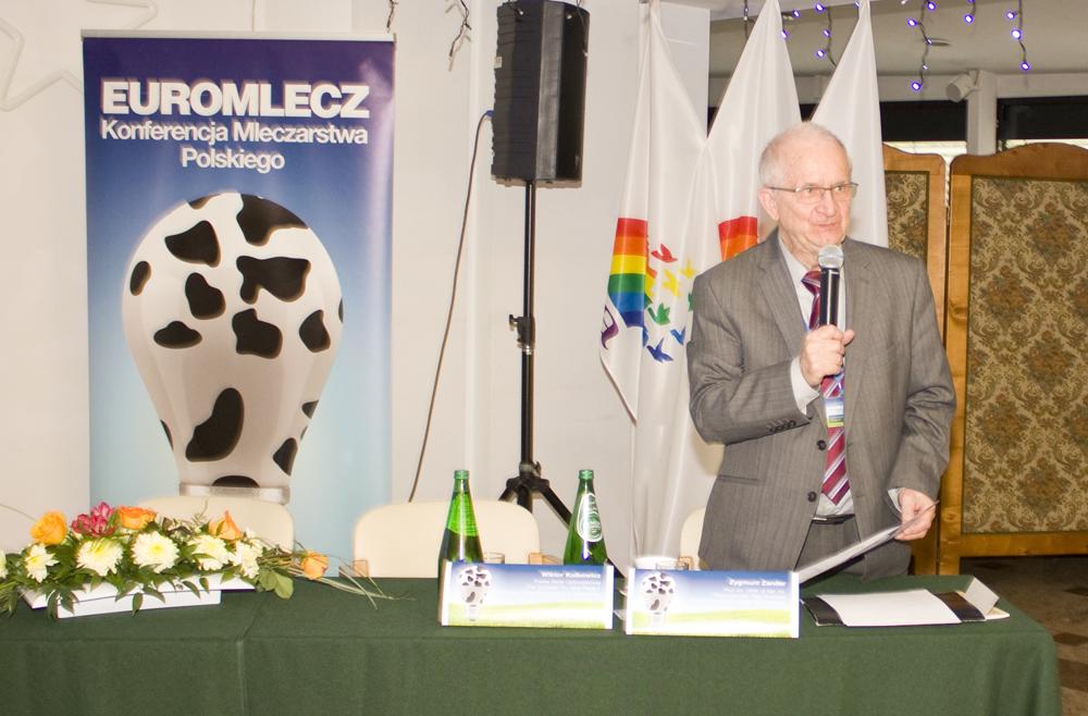 Zygmunt Zander, przewodniczący Rady Naukowej Instytutu Innowacji Przemysłu Mleczarskiego