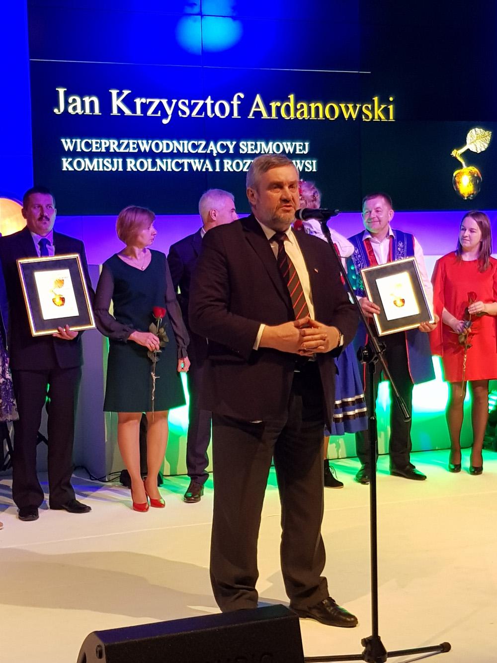 Wystąpienie Jana Krzysztofa Ardanowskiego, wiceprzewodniczącego Sejmowej Komisji Rolnictwa i Rozwoju Wsi
