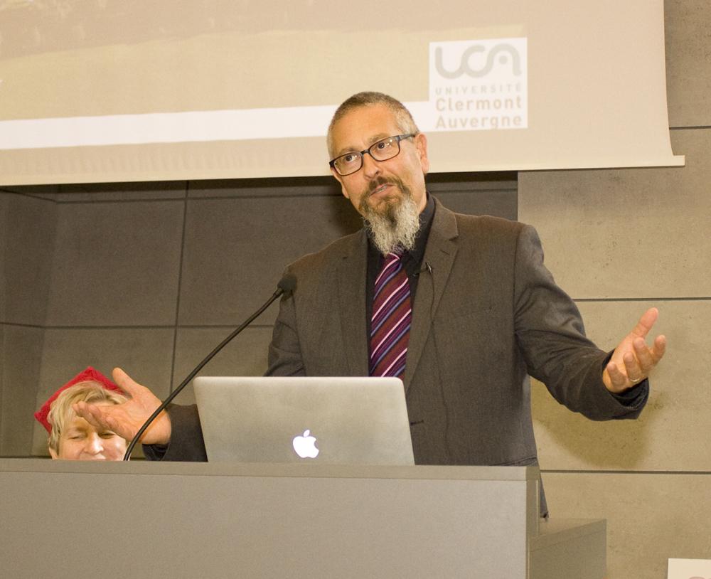 Gość specjalny uroczystej inauguracji roku akademickiego na ZUT w Szczecinie - prof. Jean Marc Lobaccaro