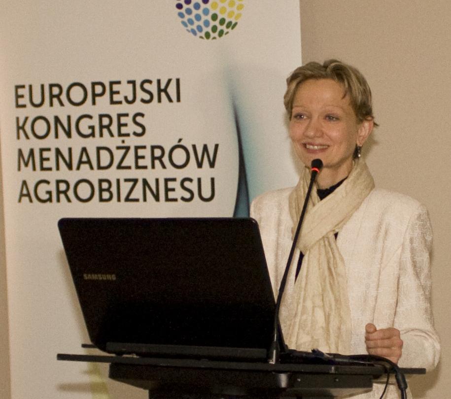 Justyna Matys, dyrektor Departamentu Gospodarki Ziemią w Ministerstwie Rolnictwa i Rozwoju Wsi