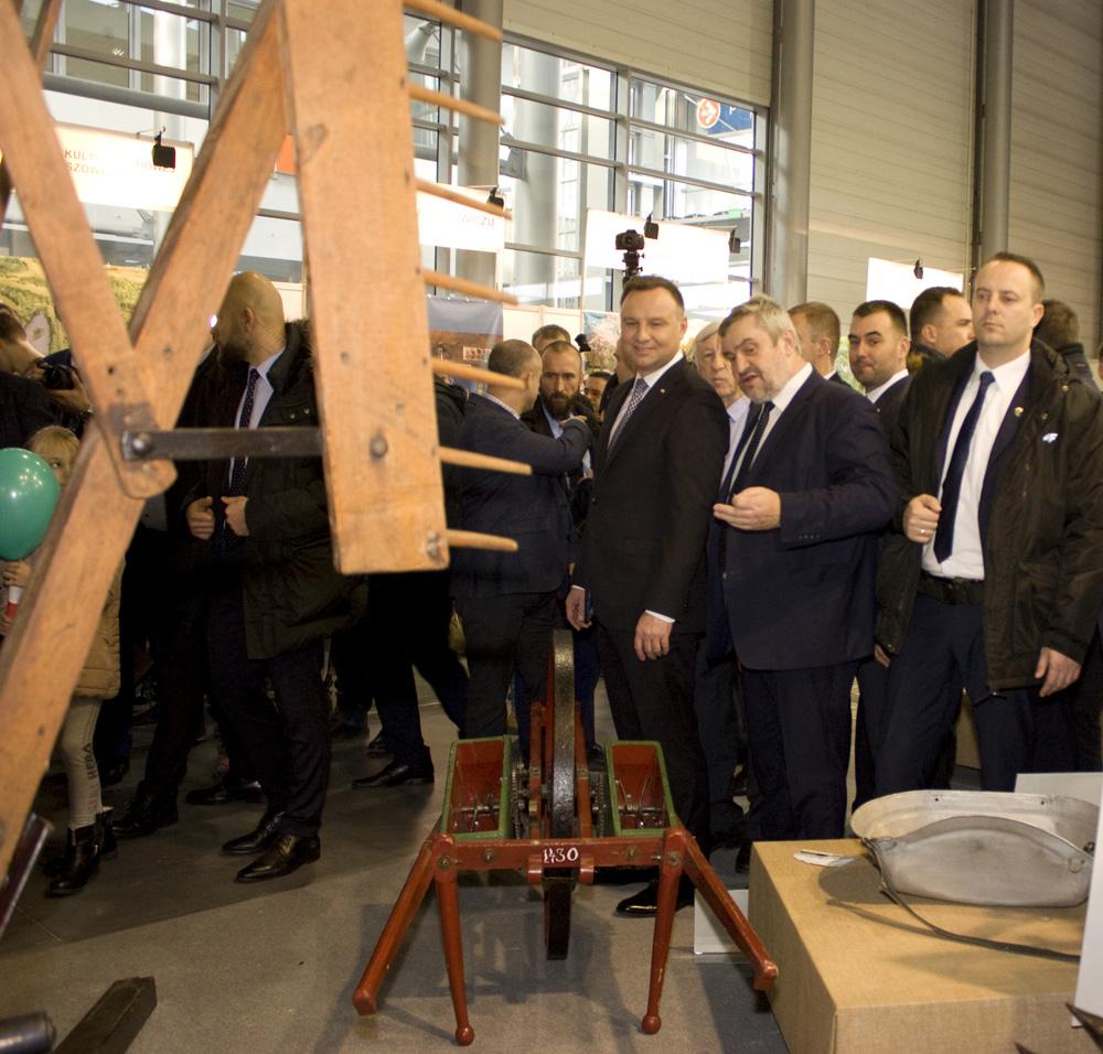 Gościem specjalnym Narodowej Wystawy Rolniczej był Andrzej Duda, prezydent RP, który zwiedzał wystawę w towarzystwie Jana Krzysztofa Ardanowskiego, ministra rolnictwa i rozwoju wsi