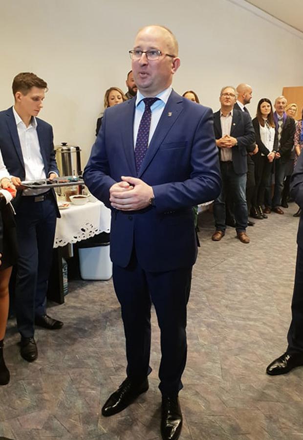 Robert Nowacki, dyrektor WMODR Oddział w Olecku