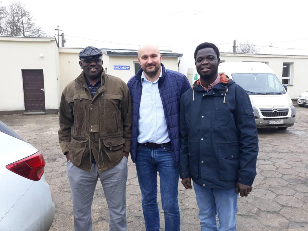 Goście z Nigerii w SHiUZ Bydgoszcz