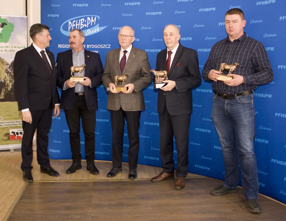 Spotkanie hodowców bydła mlecznego w Łysomicach, 7.03.2019