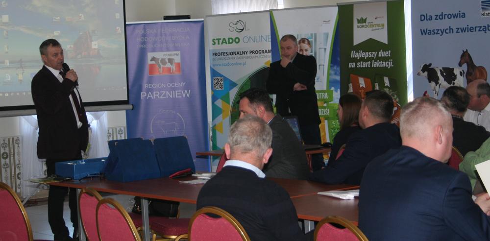 Waldemar Plantowski, prezes Mazowieckiego Związku Hodowców Bydła i Producentów Mleka