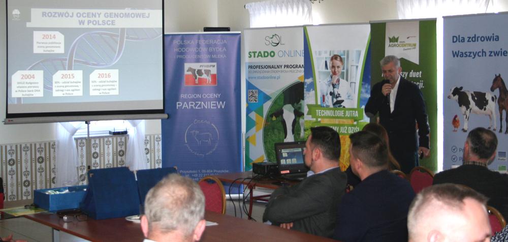 Bogdan Godlewski prezentuje program hodowlany SHiUZ Bydgoszcz