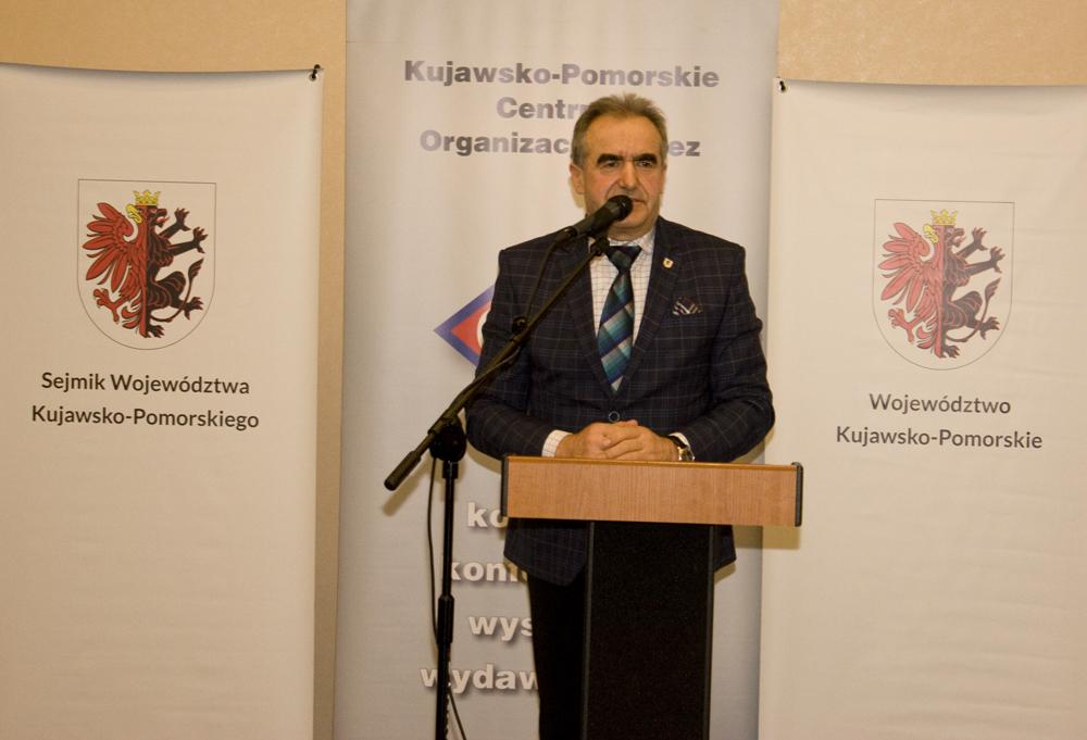 Ryszard Bober, przewodniczący Sejmiku Województwa Kujawsko-Pomorskiego