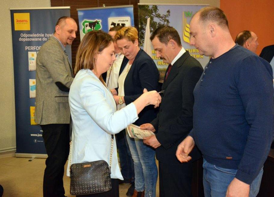 Spotkanie hodowców bydła mlecznego. Olsztyn 26.03.2019