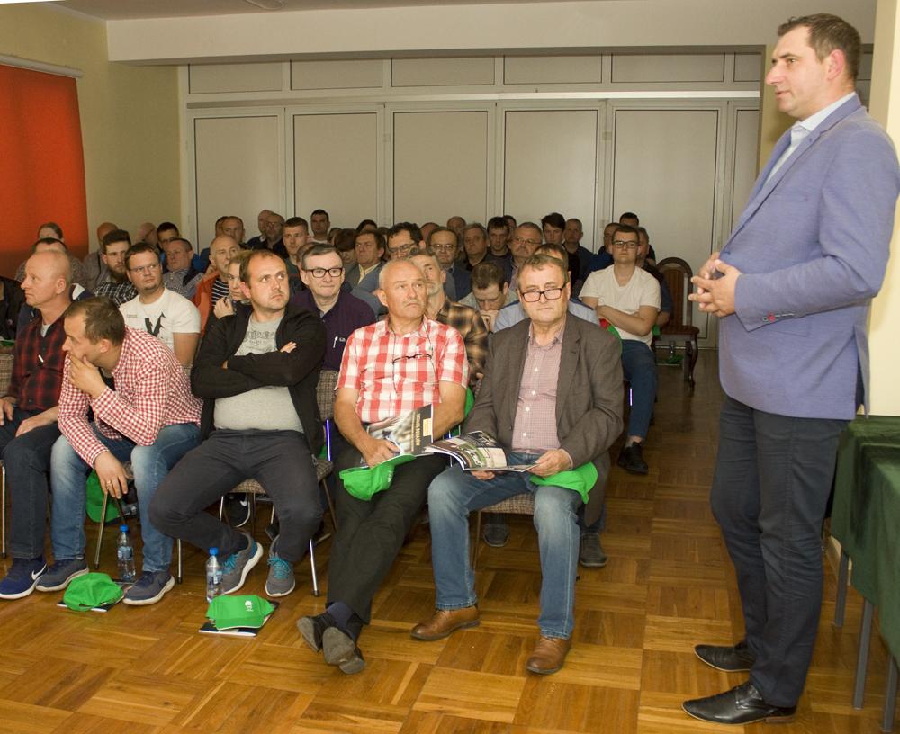 Łukasz Urbański, kierownik zespołu zootechników PFHBiPM Region Oceny Bydgoszcz