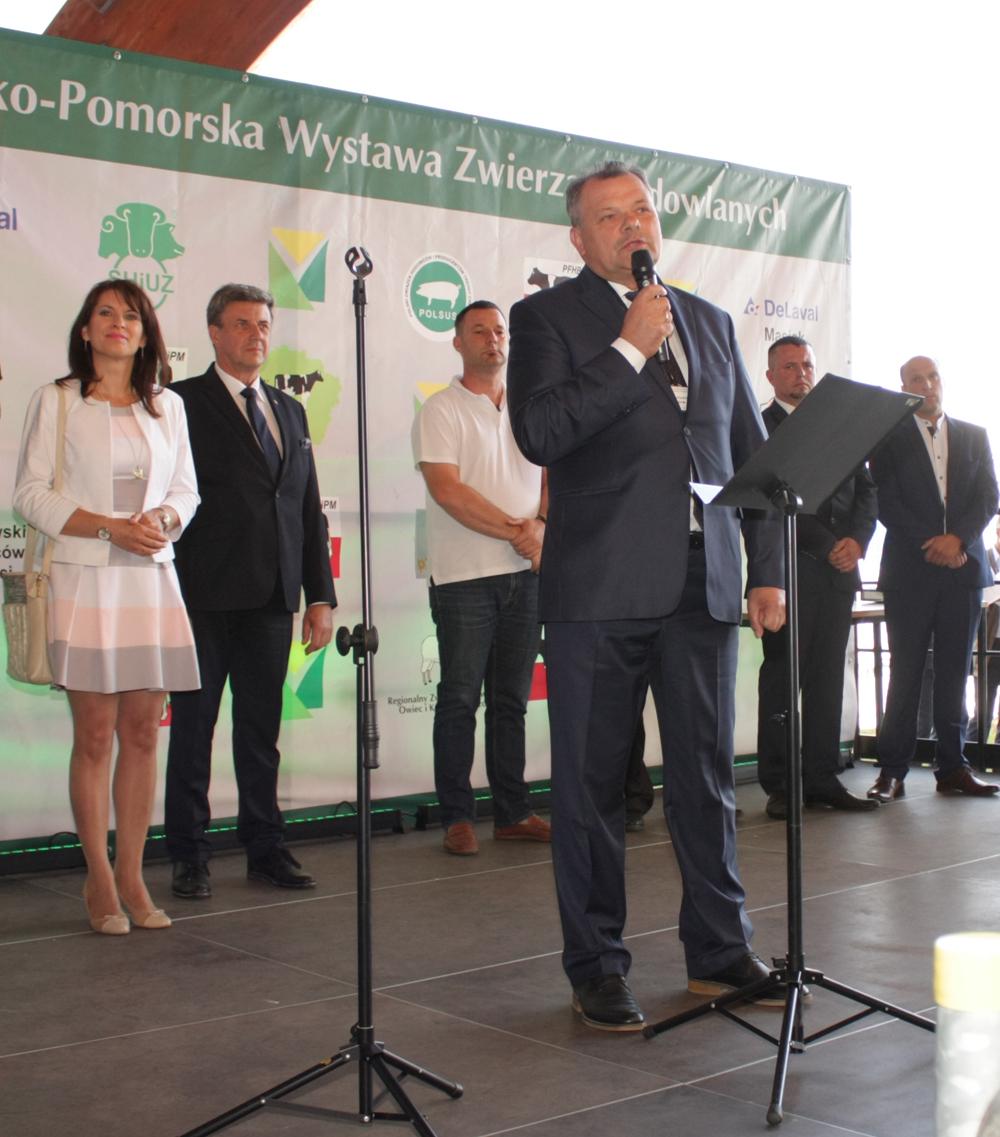 Piotr Doligalski, prezydent Kujawsko-Pomorskiego Związku Hodowców Bydła