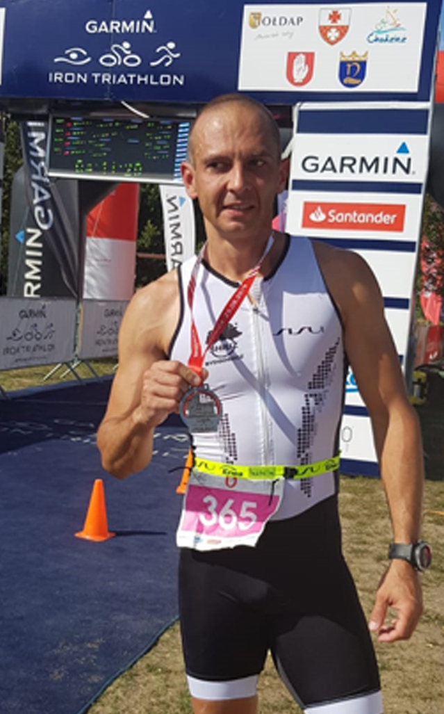 Piotr Augustyniak, Garmin Iron Triathlon 2019