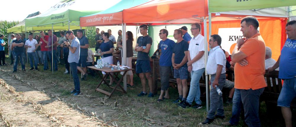 Dzień Kukurydzy w Gospodarstwie Rodziny Kuleszów w Rębiszewie Zegadłach