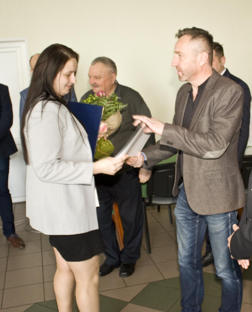 Spotkanie z hodowcami w Dobrczu