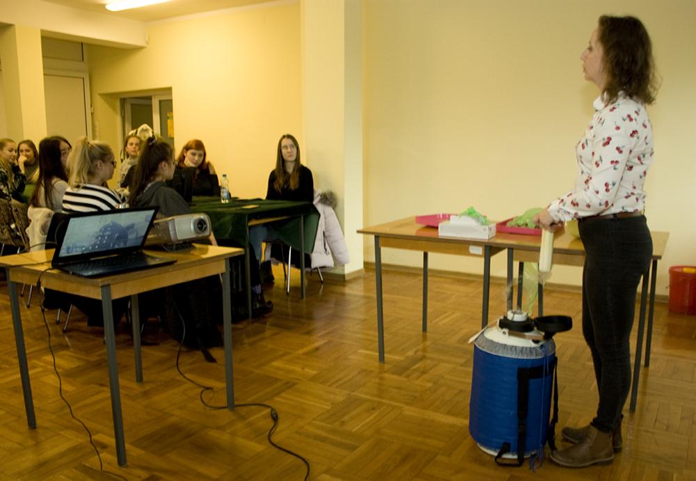 Zajęcia dla uczniów Techników Menedżerskiego SOKRATES