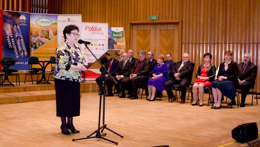 Zofia Kozłowska, przewodnicząca Kapituły Konkursu Rolnik Pomorza i Kujaw 2019