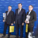 Od lewej: Marcin Gromada, Piotr Doligalski, Adrian Buze