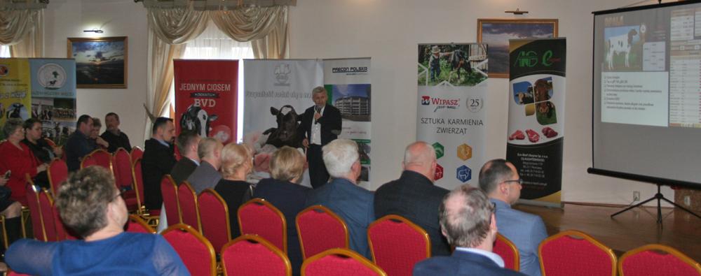 Spotkanie członków Mazowieckiego Związku Hodowców Bydła i Producentów Mleka, marzec 2020