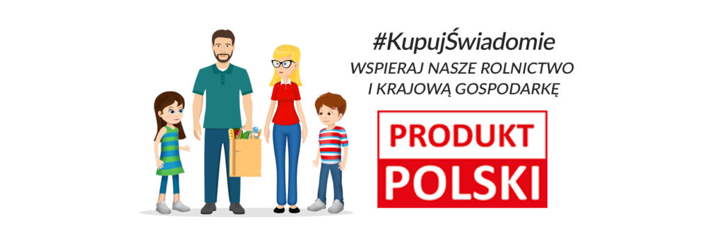 Logo Kupuj świadomie - Produkt polski
